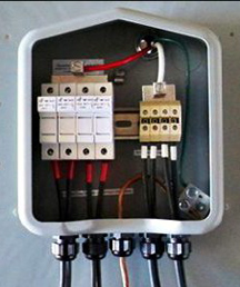 combiner step by step guide to installing a solar photovoltaic system solar fuse box at gsmportal.co